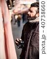 男性 外国人 観光の写真 40738660