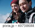 トレッキング カップル 夫婦の写真 40738688