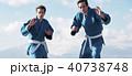 武道イメージ 富士山 柔道 外国人 40738748