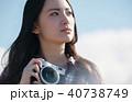 女性 カメラ 撮影 ポートレート 40738749