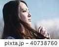 女性 カメラ 撮影 ポートレート 40738760