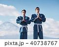 武道イメージ 富士山 柔道 外国人 40738767