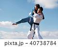 武道イメージ 富士山 柔道 外国人 40738784