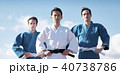 武道イメージ 富士山 柔道 外国人 40738786