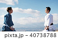 武道イメージ 富士山 柔道 外国人 40738788