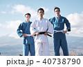 武道イメージ 富士山 柔道 外国人 40738790