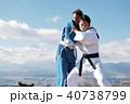 武道イメージ 富士山 柔道 外国人 40738799