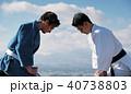 武道イメージ 富士山 柔道 外国人 40738803