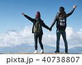 富士山 眺望 トレッキング カップル 40738807
