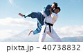 武道イメージ 富士山 柔道 外国人 40738832