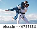 武道イメージ 富士山 柔道 外国人 40738838