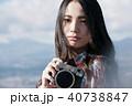 女性 カメラ 撮影 ポートレート 40738847