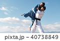 武道イメージ 富士山 柔道 外国人 40738849