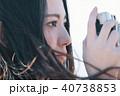 ポートレート 女性 カメラの写真 40738853