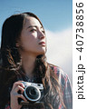 ポートレート 女性 カメラの写真 40738856