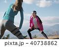 女性 2人 スポーツの写真 40738862