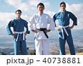 武道イメージ 富士山 柔道 外国人 40738881