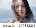 人物 ポートレート 女性の写真 40738884