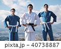 武道イメージ 富士山 柔道 外国人 40738887