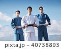 武道イメージ 富士山 柔道 外国人 40738893