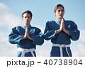 武道イメージ 富士山 柔道 外国人 40738904