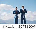 武道イメージ 富士山 柔道 外国人 40738906