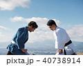 武道イメージ 富士山 柔道 外国人 40738914