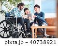 車椅子の男性 ビジネス 40738921