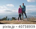 女性 2人 富士山の写真 40738939