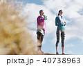 女性 2人 スポーツの写真 40738963