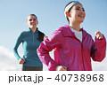 富士山 外国人 女性 ランニング 40738968