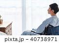 車椅子の男性 医療 40738971