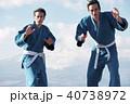 武道イメージ 富士山 柔道 外国人 40738972