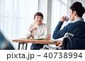 カップル 夫婦 カフェの写真 40738994