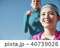 外国人 女性 ランニング 40739026