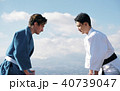 武道イメージ 富士山 柔道 外国人 40739047
