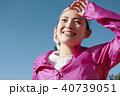 外国人 女性 ランニング 40739051