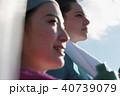 日本人 外国人 女性の写真 40739079