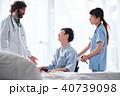 車椅子の男性 医療 40739098