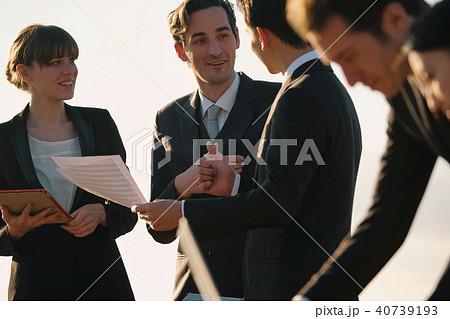 グローバル ミーティング ビジネスイメージ 40739193