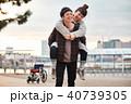 カップル 夫婦 デートの写真 40739305