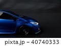 3D Rendering of Generic Concept Racing Car. 40740333