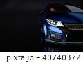 車 自動車 立体のイラスト 40740372