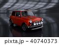 3D Rendering of Generic Concept Car. 40740373