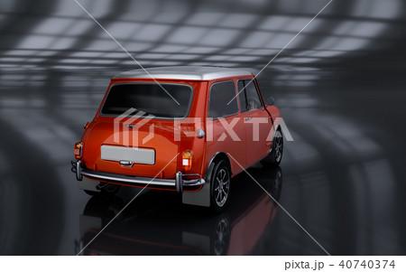 3D Rendering of Generic Concept Car. 40740374