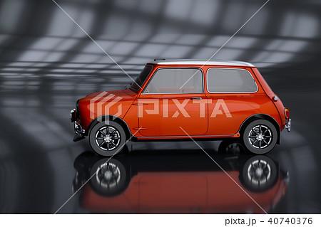 3D Rendering of Generic Concept Car. 40740376