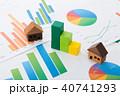 ビジネス 資料 データの写真 40741293
