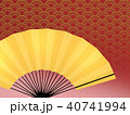 模様 柄 和柄のイラスト 40741994