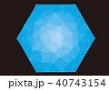 六角形 40743154