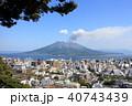 桜島 風景 晴れの写真 40743439